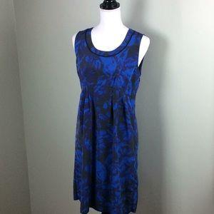 Simply Vera Vera Wang Blue Floral Shift Dress